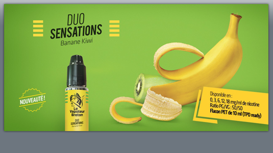 Duo Sensations - Banane Kiwi