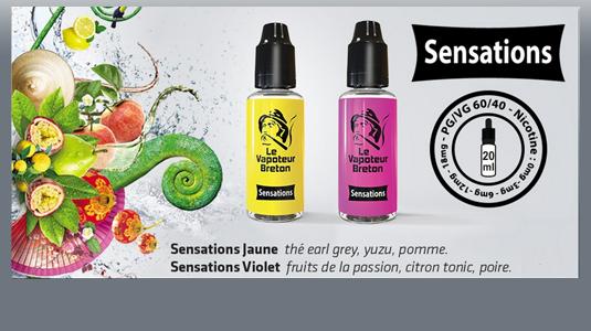 Sensations - Le Vapoteur Breton